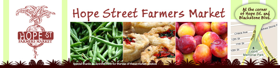 Welcome to the Hope Street Farmers Market Web Site